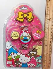 Hello Kitty 50th Anniversary Sanrio Friends LCD Digital Watch 2010 BNIP