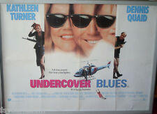 Cinema Poster: UNDERCOVER BLUES 1994 (Quad) Kathleen Turner Dennis Quaid