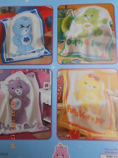 "CARE BEARS COLLECTION  BABY BLANKET CROCHET PATTERNS 38.5""X46.5"""