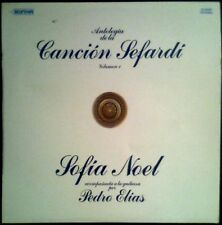 SOFIA NOEL - Antologia De La Cancion Sefardi Vol. 1 - SPAIN LP Diapason 1979