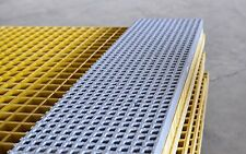 "FRP Double deck grating panel, 4'x12', 1.5"" thickness,sanded anti-slip surface"
