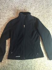 Women's Black Spyder Jacket Coat Size Medium Zippered Kd1