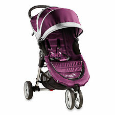 Baby Jogger 2016 City Mini Single Stroller - Purple/ Gray - New! Free Shipping!