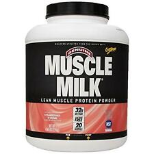 Muscle Milk Genuine Protein Powder, Strawberries 'N Crème, 32g Protein, 4.94
