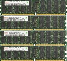 32GB (8x4GB) PC2-5300P DDR2 ECC RAM MEMORY DELL POWEREDGE R905 SC1435 T605