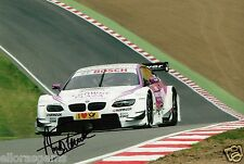 "World Touring Car Andy Priaulx BMW Hand Signed Photo WTCC 12x8"" AD"