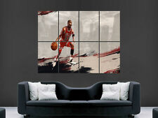 MICHAEL JORDAN POSTER 23 BASKETBALL NBA LEGEND BULLS GIANT ART  PRINT LARGE