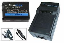 Qualitäts-Akku + Ladegerät für Sony NEX5, NEX-5A, NEX-5D, NEX-5H | NP-FW50