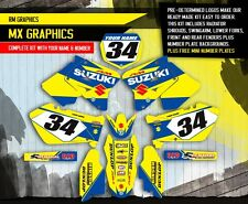 2001-2012 RM 125 250 GRAPHICS RM125 RM250 SUZUKI MOTOCROSS DIRT BIKE MX DECALS