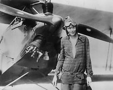 AMELIA EARHART 8X10 GLOSSY PHOTO PICTURE IMAGE #2
