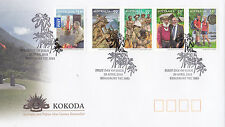 2010 KOKODA Joint Issue With PNG (Gummed Stamps) FDC - Kingsbury Vic 3083 PMK