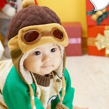 Boys Hats Winter Warm Cap Hat Beanie Pilot Aviator Crochet Earflap Hat NICE