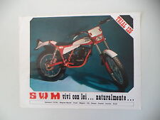 advertising Pubblicità 1978 MOTO SWM TRIAL 125