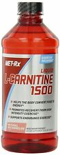 Met Rx Liquid L-Carnitine 1500 Natural Watermelon 16 oz