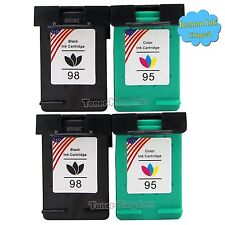 4PK 98 95 Ink Cartridge For HP Officejet 6310 6310xi Deskjet 5940xi 5940 Quality