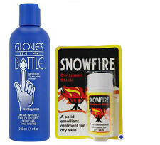 GLOVES IN A BOTTLE SHIELDING LOTION 240ML / SNOWFIRE 18G CHAPPED/CRACKED HANDS