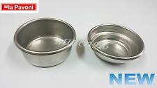 La Pavoni Parts - Single and Double Filter Basket Set - 60mm for New Group