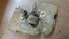 Original British Army Leather Lowa Desert Combat Boots Size 4 UK #102
