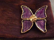 Broche Papillon YVES SAINT LAURENT neuve