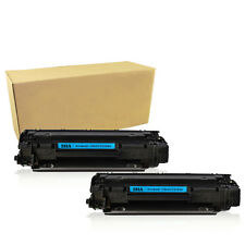2PK CE285A 285A Toner Cartridges For HP 85A LaserJet P1102 P1102W M1212NF M