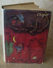 First Edition Marc Chagall by Franz Meyer Dust Jacket W/ Color Plates