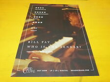 BILL FAY - Who is the sender ? - Publicité de magazine / Advert !!!