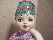 """GORGEOUS 18"""" RUSSIAN PORCELAIN DOLL IN TRADITIONAL FOLK COSTUME"""