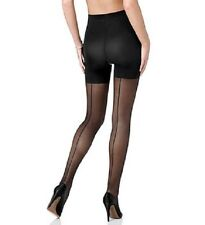 Spanx seam sheers tights size B rrp £28 Black
