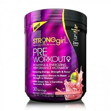 Strong Girl - StrongGirl Pre-Workout, Strawberry Mojito - 219g FREE TRACKED POST