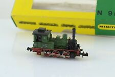 Minitrix 0-6-0 BR89 DR Steam Locomotive Green N Scale