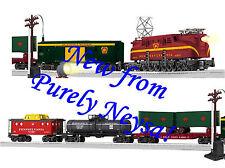 LIONEL PRR GG1 Freight SET w Track & Transformer RailSounds o ga train 6-30171
