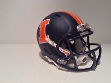 ILLINOIS FIGHTING ILLINI 2014 NAVY MATTE SPEED  MINI HELMET