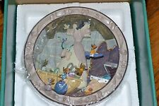 WDC Disney Cinderella 3D Collector Plate We Can Do It 225/7500