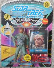 Star Trek Next Generations DATHON Figure Mosc New Playmates