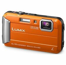 Panasonic Lumix DMC-TS30 Digital Camera (Orange) DMCTS30D Waterproof Shockproof