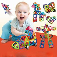 36PCS Magnetic Building Sets Enlighten Puzzles Toy Similar Magformers Toys Gift