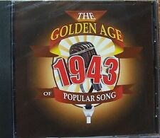 THE GOLDEN AGE OF POPULAR MUSIC - 1943 CD - FREE POST IN UK