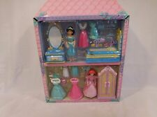 Disney Polly Pocket princess play sets -- Jasmine plus Ariel vintage rare
