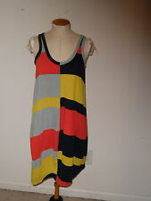 MARC BY MARC JACOBS DUSK BLUE MULTI SLEEVELESS COVER UP ABOVE KNEE DRESS M