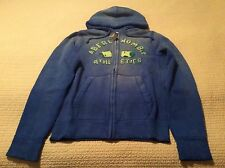 NWT Abercrombie&Fitch Man's Thick Blue Hoodie Jacket Coat Size XL SRP$90
