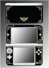 Legend of Zelda Link Princess Hyrule Logo Video Game Skin for Nintendo 3DS XL