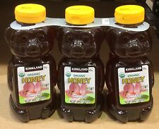 3~24 oz bottles ORGANIC HONEY BEARS 4.5 Lb ☆ U.S. Grade A Certified