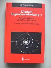Digitale Signalverarbeitung 1 Analyse diskreter Signale und Systeme 1994