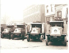 MACK 'AC' Fleet of Delivery Trucks: PIGGLY WIGGLY Grocery 8x10 B&W GLOSSY PHOTO