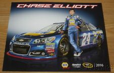 2016 Chase Elliott Napa Auto Parts Chevy SS NASCAR Sprint Cup postcard