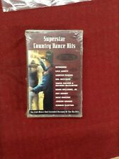 Superstar Country Dance Hits Cassette New Sealed
