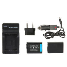 2pcs NP-FW50 Battery + Charger for SONY NEX-3N NEX-5T NEX-6 NEX-7 A5000 A6000 A7