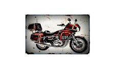 1982 suzuki gs1100 gk Bike Motorcycle A4 Retro Metal Sign Aluminium