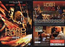 HARD RUSH - DVD (USATO EX RENTAL) DOLF LUNGREN
