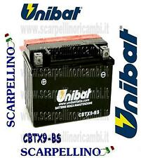 BATTERIA UNIBAT CBTX9-BS CON ACIDO ARCTIC CAT DVX 400 cc -BATTERY- YTX9-BS